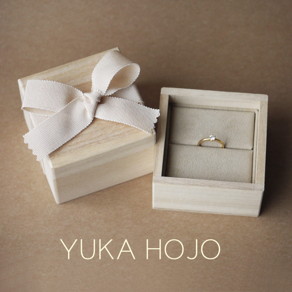 YUKA HOJO Ring Box