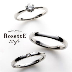 RosettE Life set ring「Sincera」